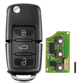 XHORSE XKB501EN Wired Universal Remote Key Volkswagen B5 Type 3 Buttons for VVDI Key Tool English Version