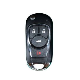 Xhorse XKBU02EN Wire Flip Universal Remote Key Buick Style 4 Buttons for VVDI VVDI2 Key Tool