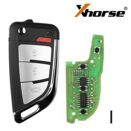XHORSE VVDI XKKF20EN VVDI Wire Remote Key Memoeial KNIFE 3 Buttons 5pcs/lot