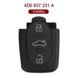 AK001033 for VW Remote Key 433.92MHz 4D0 837 231 A