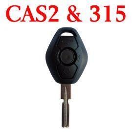 315 MHz CAS2 Remote Key for BMW