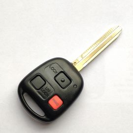 3 Buttons 315 MHz Remote Head Key for Toyota FJ Cruiser 2010-2015 - HYQ12BBT (G Chip)