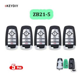 Universal ZB21-5 KD Smart Key Remote for KD-X2 - Pack of 5