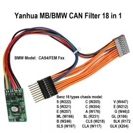 Yanhua MB/BMW CAN Filter 18 in 1 BMW CAN Filter MB CAN Filter 18in1
