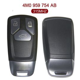 Original  3 Buttons 315 MHz Smart Proximity Key for Audi Q7 - 4M0 959 754AB