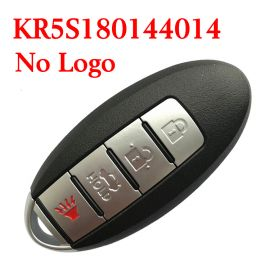 (434MHz) KR5S180144014 (4A Chip) 3+1 Buttons Smart Proximity Key for Nissan Altima Maxima 2016-2018 -  (Without Logo)