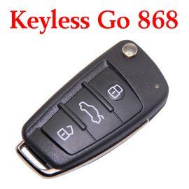 Genuine 868 MHz Smart Key for Audi A6 Q7 - 4F0 837 220AK