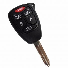 5+1 Button Key Shell for Chrysler 5pcs