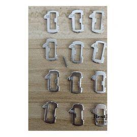 Peugeot Car lock -  Reed Locking Plate Inner Milling Locking Tabs (240 pcs)