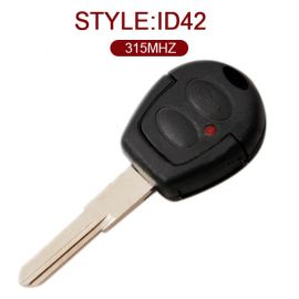 AK001040 for Volkswagen JETTA 2 Button Remote Key (Model 753A) ID42 315MHz