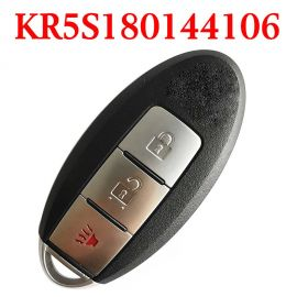 (433Mhz) S180144105 KR5S180144106 2+1 Buttons Smart Proximity Key for Nissan Rogue 2014-2017 - KR5S180144106 ( 4A Cihp )