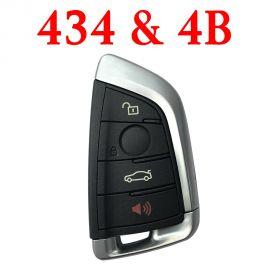 Smart Remote Key for BMW FEM - 4 Buttons 434 MHz