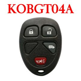 3+1 Buttons 315 MHz Remote Control for Chevrolet - KOBGT04A