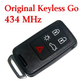 Original 4+1 Buttons 434 MHz Smart Proximity Key for Volvo S80 - Keyless Go