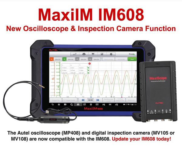 im608-adds-Oscilloscope Inspection Camera Function