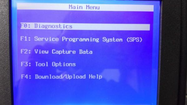 GM tech-2 software display-2