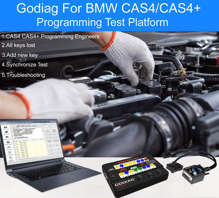 GODIAG BMW CAS4 & CAS4+ Test Platform 2