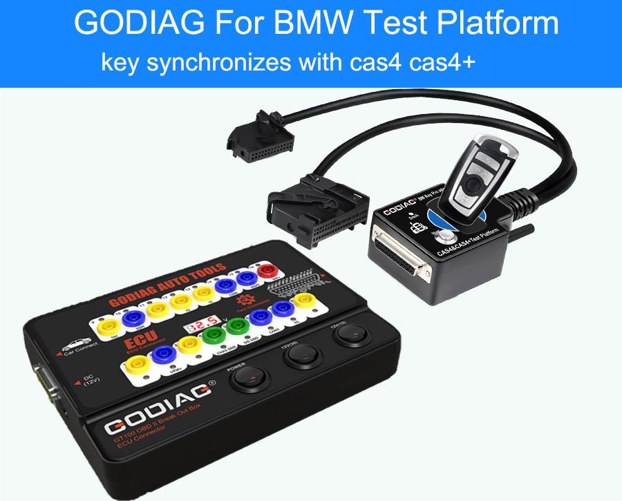 GODIAG BMW CAS4 & CAS4+ Test Platform 6