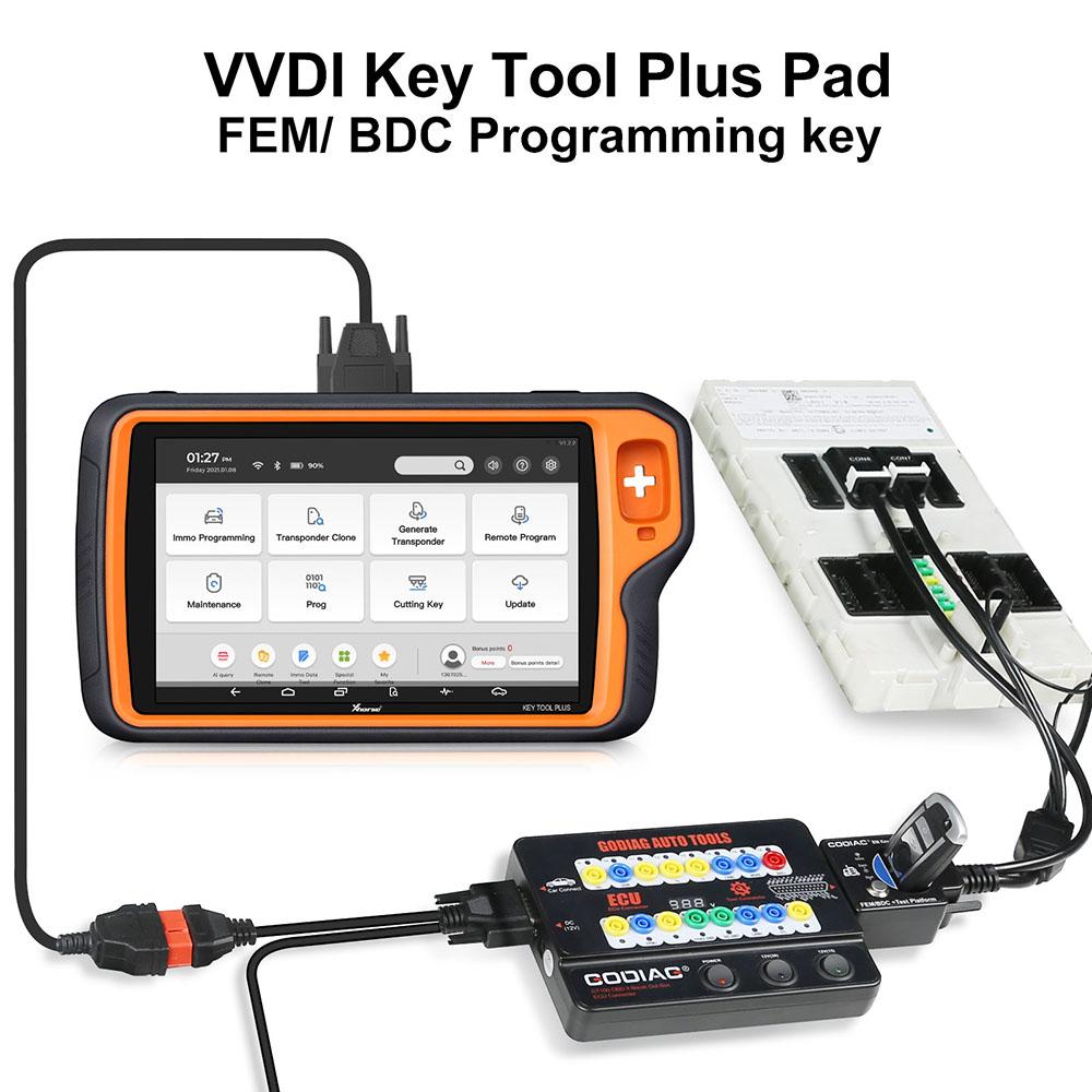 key-tool-plus-godiag-fem-test-platform